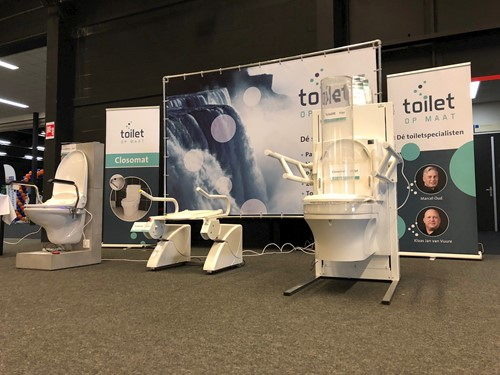 Toilet Op Maat (TOM) Closomat+ Toiletlift CareBidet+